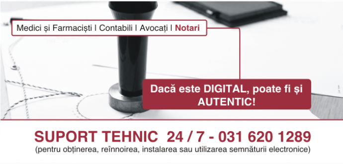 DigiSign - Certificat digital - Semnatura electronica